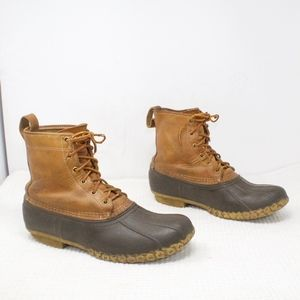 LL BEan Thinsulate Lined Duck Boots Size 9